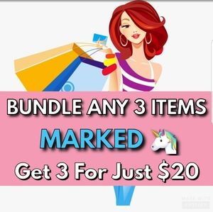🦄 MAKE ME AN OFFER Get 3 Items for $20!